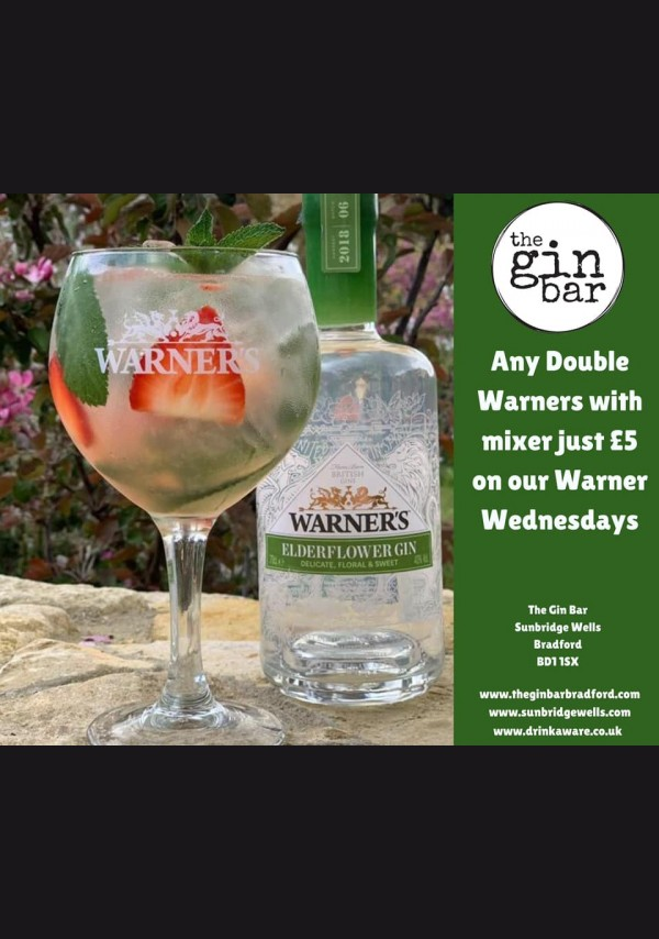 The Gin Bar Wednesdays