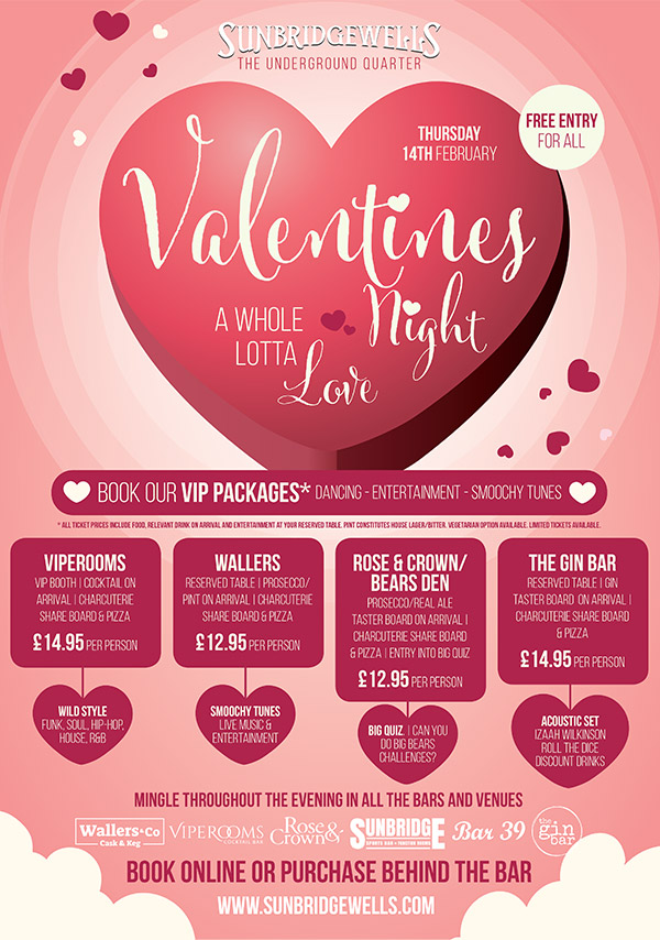 Valentine's Night - VIP Packages