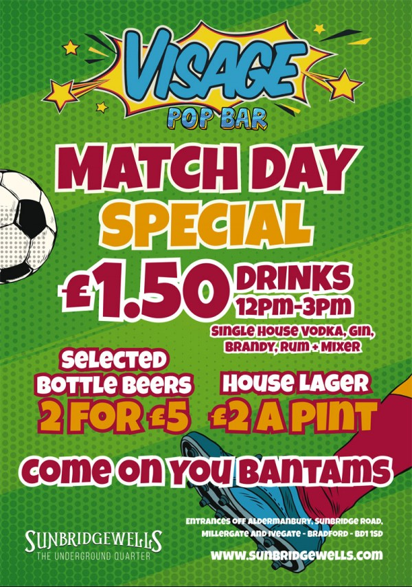 Match Day Special