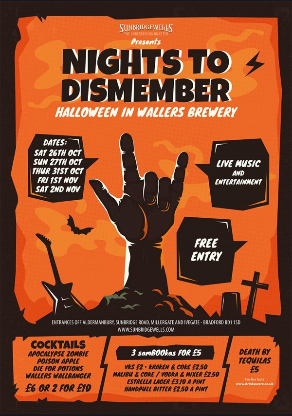 Halloween Nights to Dismember