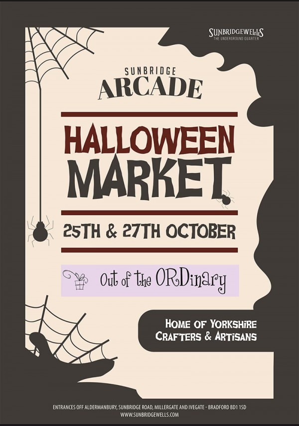 Halloween Market 25th- 26th October